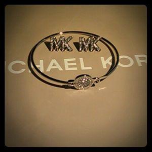 Michael Kors Silver Logo Set